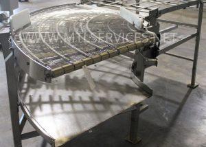34'' 90 conveyor system