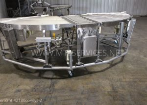 42'' 180 conveyor system