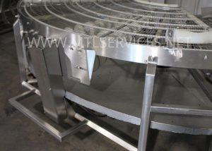 42'' 90 conveyor system
