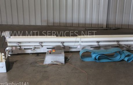 used infeed conveyor